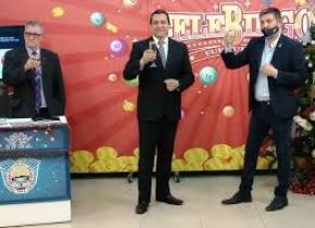Se celebró el sorteo del Gigante de Navidad del Telebingo con un ganador que se llevó 1 millón de pesos