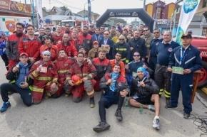 Se celebró este domingo 29 la 1° Maratón de Bomberos del Fin del Mundo