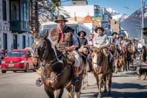 Se conmemoró en Ushuaia el Día de la Tradición