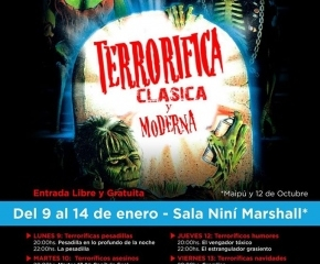Se desarrolla la Novena Edición del Festival Terrorífica en Ushuaia