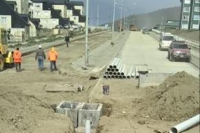 Se llevan adelante los trabajos de pavimentación con hormigón en el Barrio Pipo