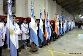 Se llevó a cabo el acto central por el Día de la Bandera en Río Grande
