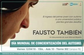 """Se proyectará en la UNTDF el documental """"Fausto también"""""""
