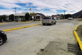 Se reabrió el ingreso al barrio Río Pipo en el cruce de Yrigoyen y Formosa