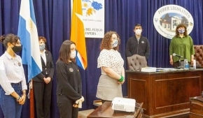 Se realizó en Ushuaia y Río Grande la primera sesión del Parlamento Juvenil del MerCoSur