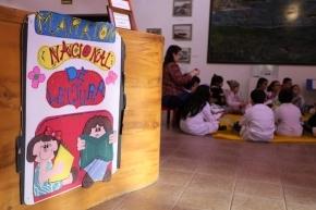 Se realizó la Maratón Nacional de Lectura en el Museo Municipal Virginia Choquintel