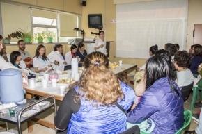 Se realizó un desayuno interdisciplinario en el Hospital Regional Ushuaia