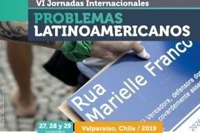 Se realizarán las VI Jornadas Internacionales de Problemas Latinoamericanos