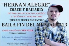 """Se realizará el 3°Encuentro de Baile Provincial """"Baila fin del Mundo 2013"""""""