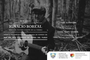 """""""Sur del Sur, Historias de Tierra del Fuego"""": Los canales públicos emitirán un especial del músico fueguino Ignacio Boreal"""