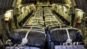 Termina segunda entrega de ayuda humanitaria de EE.UU. en Irak