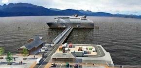 Terminal multipropósito de Puerto Williams será el primero en Chile