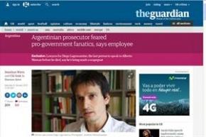 The Guardian publicó un extenso artículo por la muerte de Alberto Nisman