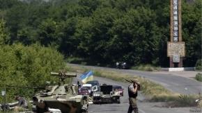 Ucrania: informes contradictorios del retiro de rebeldes de Sloviansk