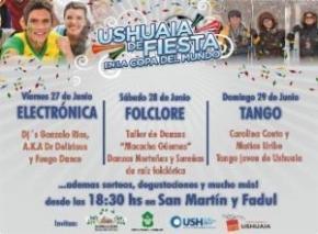 """""""Ushuaia de Fiesta en la Copa del Mundo"""""""