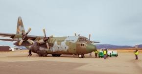 Ushuaia sirvió por primera vez de base de apoyo logístico del Programa Antártico Brasileño