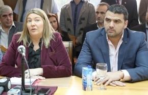 Vuoto ratifica su alianza con el peronismo del ajuste liderado por Bertone