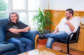 Vuoto recibió a Ignacio Carlotto y Liliana Herrero