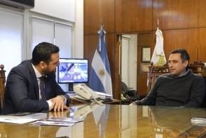 Vuoto y Mestre firmaron convenio de cooperación