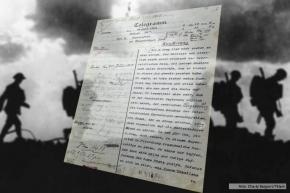 Ya es patrimonio de la humanidad el telegrama que desató la I Guerra Mundial